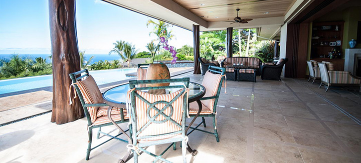 Outdoor Living in Beautiful Kailua-Kona Hawaii